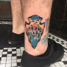 Arrowhead Tattoo Meaning 41