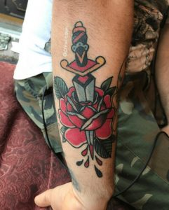 American Traditional Tattoo Artist 9
