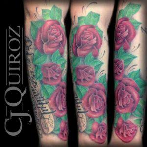 Bakersfield Tattoo Artist CJ Quoroz 3