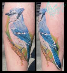 Blue Jay Tattoo Meaning 11