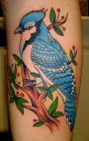 Blue Jay Tattoo Meaning 2