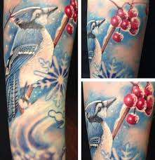 Blue Jay Tattoo Meaning 20
