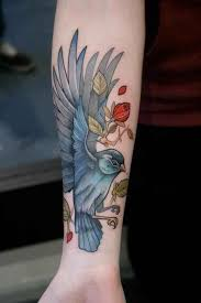 Blue Jay Tattoo Meaning 24