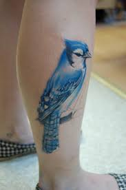 Blue Jay Tattoo Meaning 27