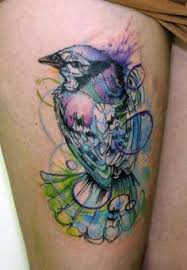 Blue Jay Tattoo Meaning 34