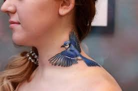 Blue Jay Tattoo Meaning 35