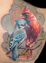 Blue Jay Tattoo Meaning 39