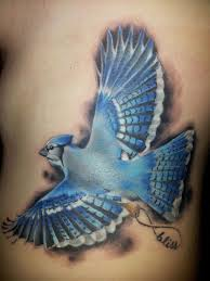Blue Jay Tattoo Meaning 4