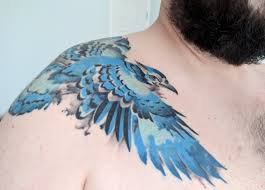 Blue Jay Tattoo Meaning 41