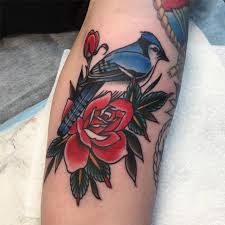 Blue Jay Tattoo Meaning 46