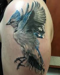 Blue Jay Tattoo Meaning 47