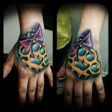 Brass Knuckles Tattoo Meaning 27
