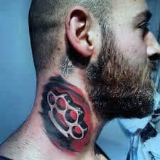 Brass Knuckles Tattoo Meaning 38