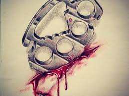 Brass Knuckles Tattoo Meaning 47