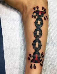 Chain Tattoo Meaning 4