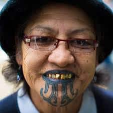 Chin Tattoo Meaning 20
