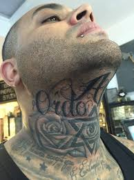 Chin Tattoo Meaning 24