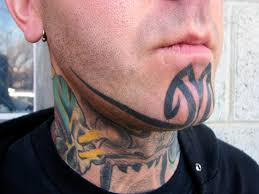 Chin Tattoo Meaning 32