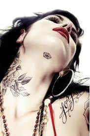 Chin Tattoo Meaning 45