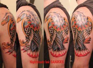 Cincinnati Tattoo Artist Christopher Sanders 3
