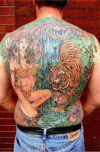 Cincinnati Tattoo Artist Dana 1