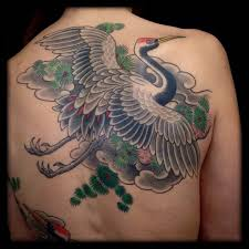 Crane Tattoo Meaning 21