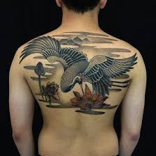 Crane Tattoo Meaning 31