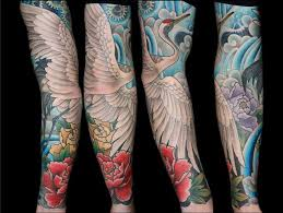 Crane Tattoo Meaning 37