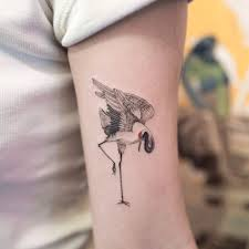 Crane Tattoo Meaning 5