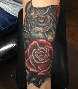 Dallas Tattoo Artist 45