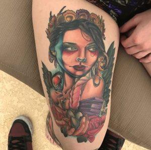 Dallas Tattoo Artist 31