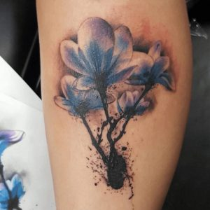 Watercolor Tattoo Artist 19