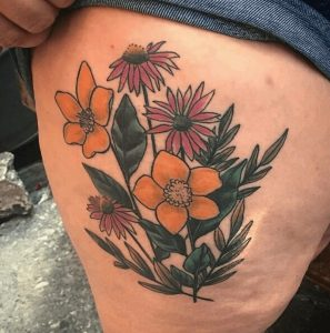 Best Floral Tattoo Artist 24