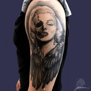 Black and Grey Tattoo Artist 1
