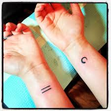 Equal Sign Tattoo Meaning 17