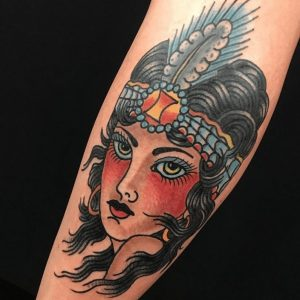 American Traditional Tattoo Artist 20