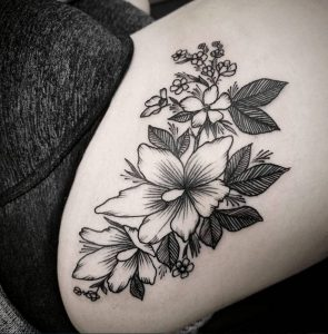 Best Floral Tattoo Artist 1