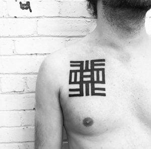 Black and Grey Tattoo Artist 9