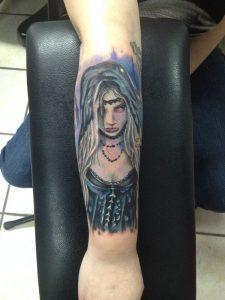 Fresno Tattoo Artist Smiley 2