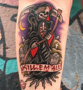 Grand Rapids Tattoo Artist Johnny Spinoso 4