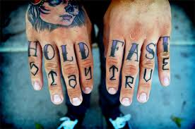 Hold Fast Tattoo Meaning 7