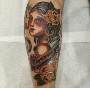 American Traditional Tattoo Artist 18