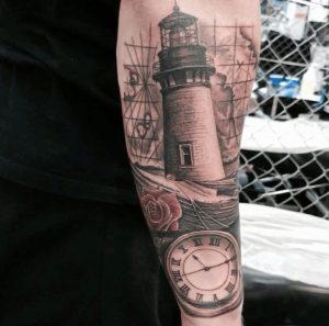 Black and Grey Tattoo Artist 52