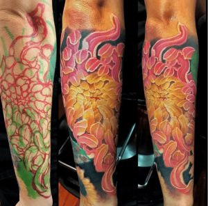 Honolulu Tattoo Artist Richie Lucero 1