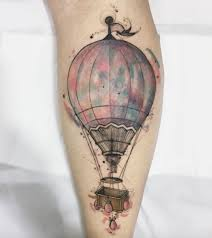 Hot Air Balloon Tattoo Meaning 1