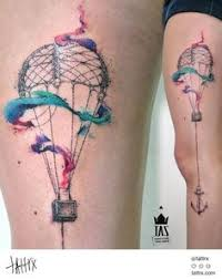 Hot Air Balloon Tattoo Meaning 10