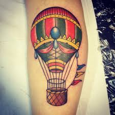 Hot Air Balloon Tattoo Meaning 11