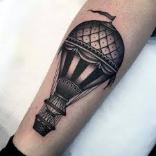 Hot Air Balloon Tattoo Meaning 12