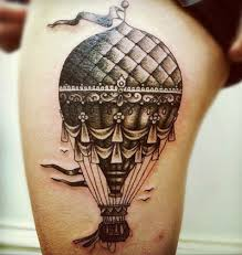 Hot Air Balloon Tattoo Meaning 14