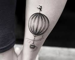 Hot Air Balloon Tattoo Meaning 15